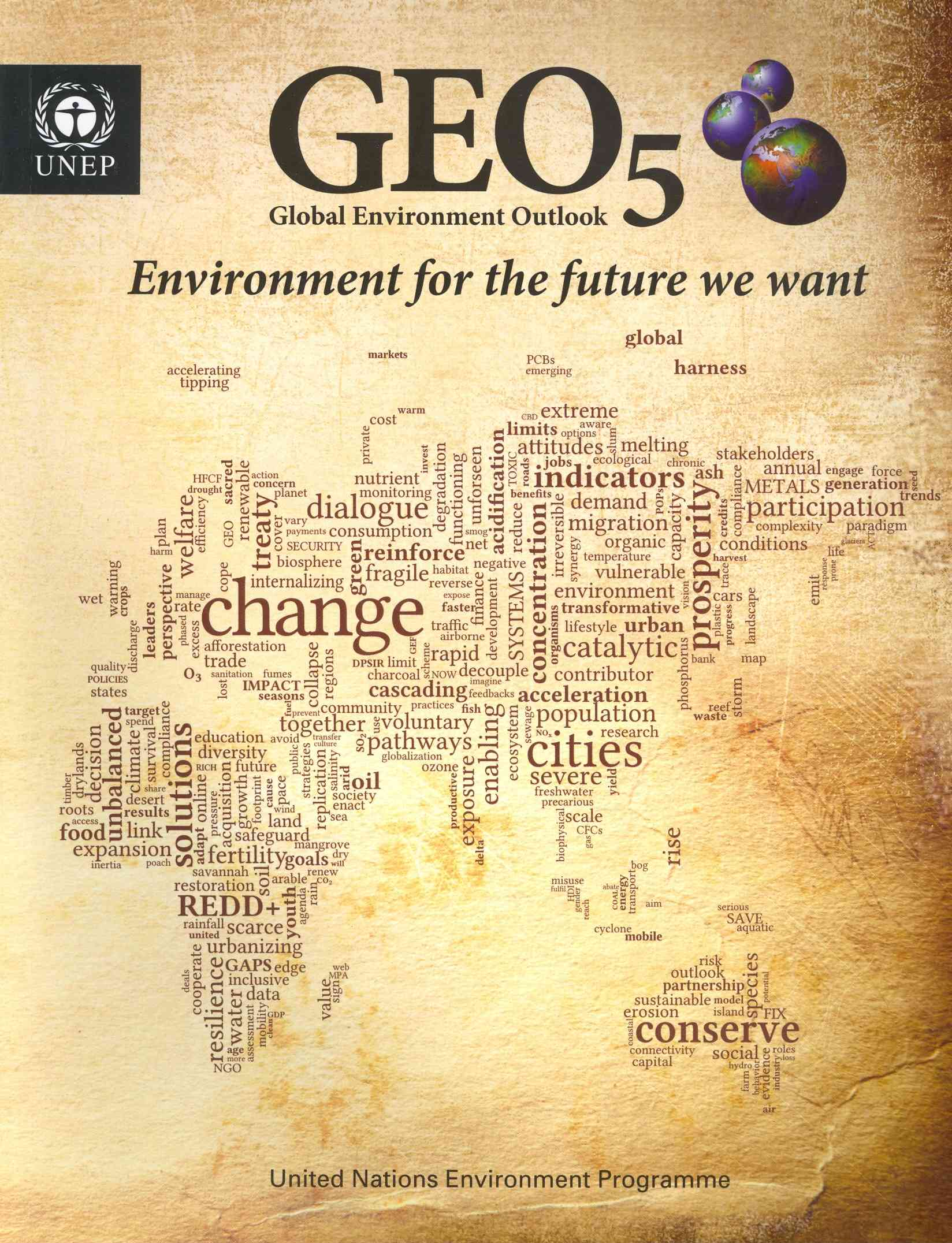 Global Environment Outlook 5 (Geo 5)